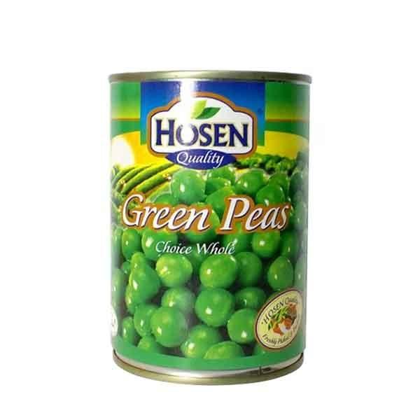 Hosen Green Peas Choice Whole Can (397 gm)
