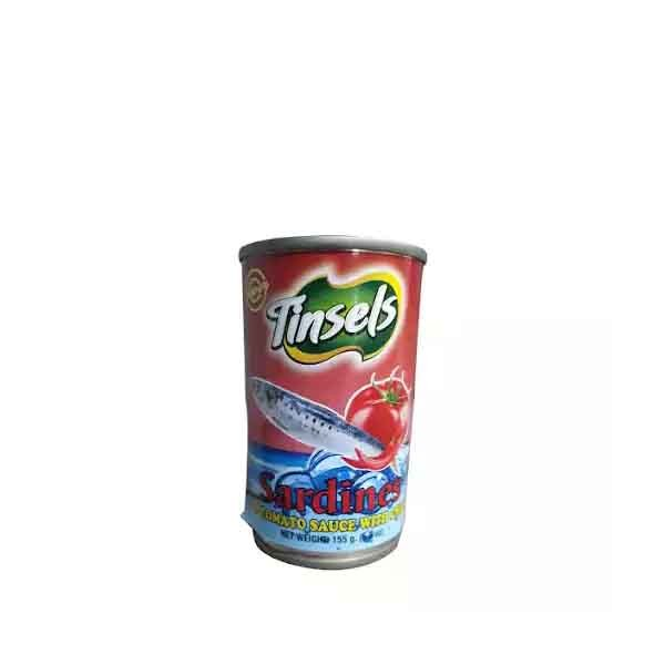 Tinsels Sardin In Tomato Sauce With Chili (155 gm)