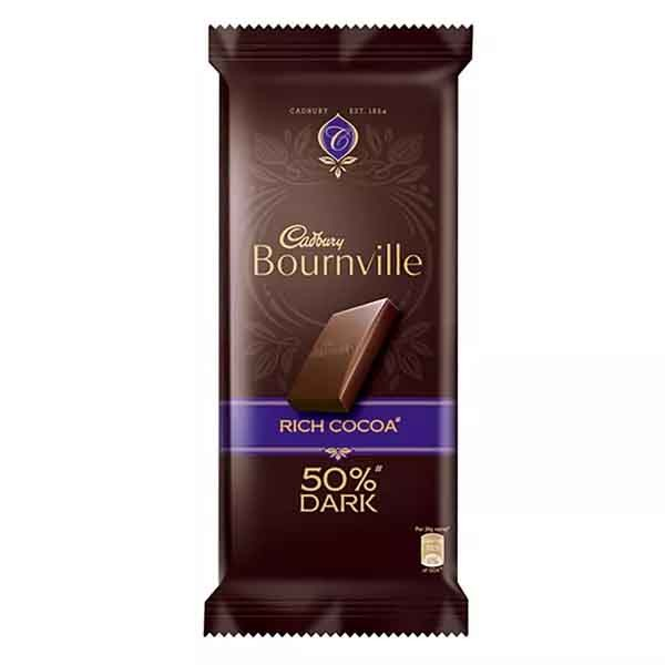 Cadbury Bournville Rich Cocoa Dark Chocolate (80 gm)