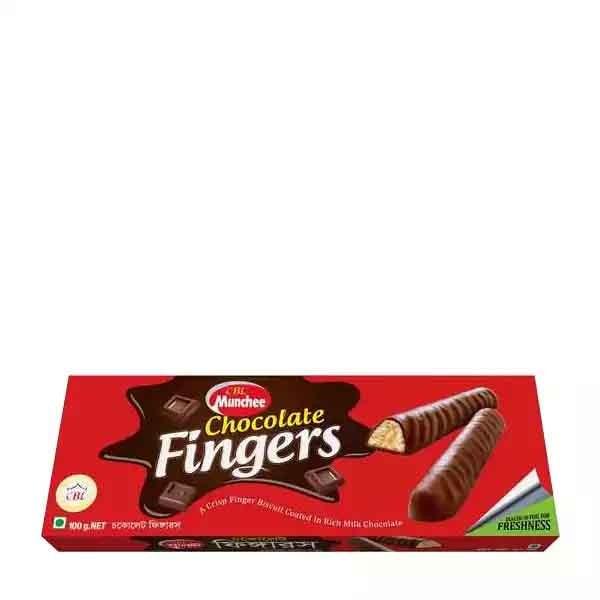 CBL Munchee Chocolate Fingers (100 gm)