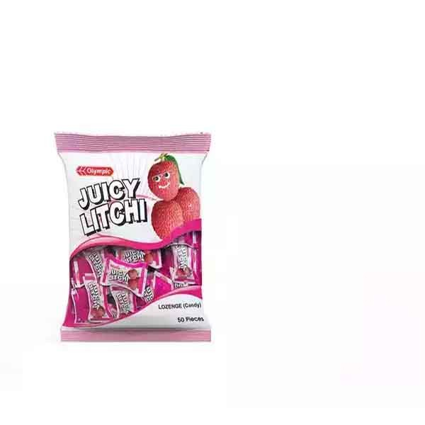 Olympic Juicy Litchi Candy (125 gm)