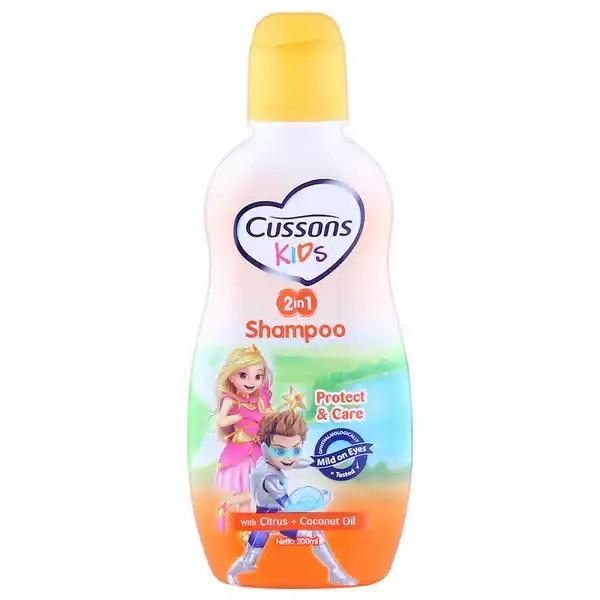 Cussons Kids Protect & Care Shampoo (Citrus & Coconut Oil) (200ml)