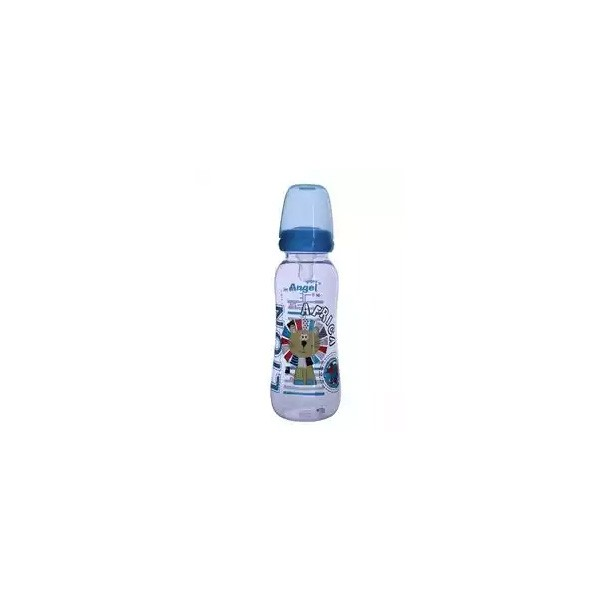 Angel Feeding Bottle Africa Blue L (RNA-8C2) (240ml)