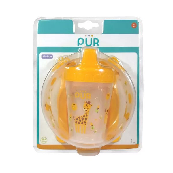 Pur Baby 4 in 1 Weaning Set (R.5910) (6+ Months) 1 Combo (1set))