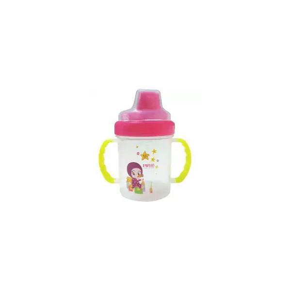 Farlin Baby Non Spill Magic Cup Pink (6+ M) (AET-CPO 11B) (1pcs)