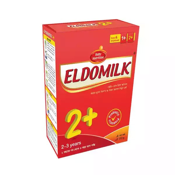 ELDOMILK2+ Growing Up Milk Powder BIB (2 - 3 Years) (350gm)