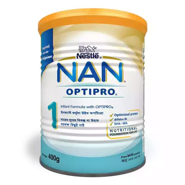 Nestlé NAN 1 Follow Up Formula With Optipro TIN (400gm)