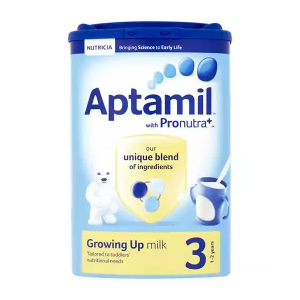 Aptamil 3 Growing Up Milk (1-2 Years) (800gm)