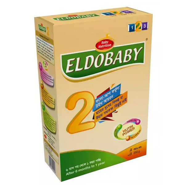 ELDOBABY 2 Follow Up BIB (6-12 Months) 350 gm