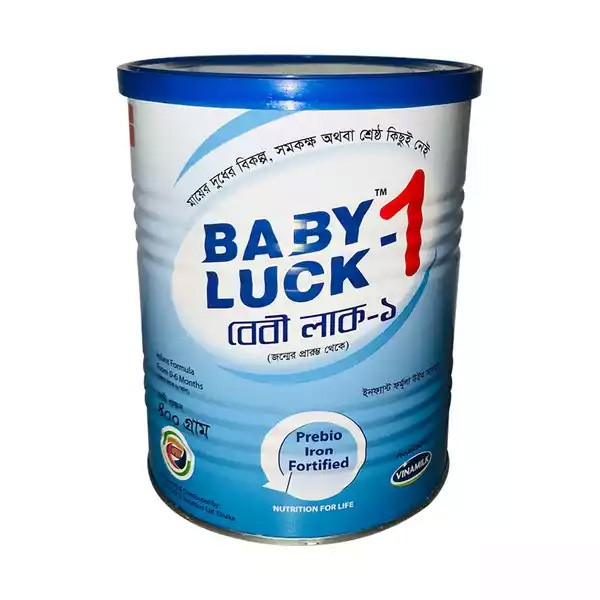 Baby Luck 1 (0-6 months) Tin (400gm)