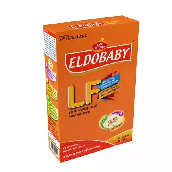 ELDOBABY Lactose Free Infant Formula With Iron (6 Months+) (180gm)