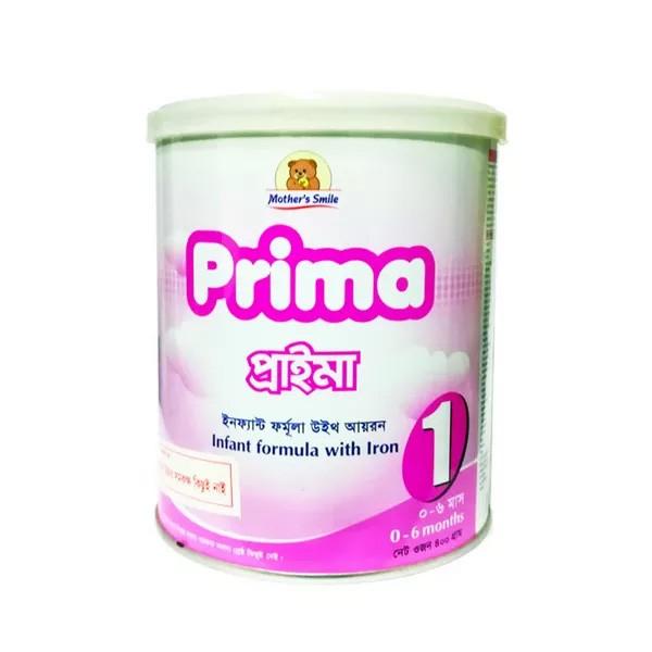 Mother's Smile Prima 1 Milk Tin (0-6 months) (400gm)