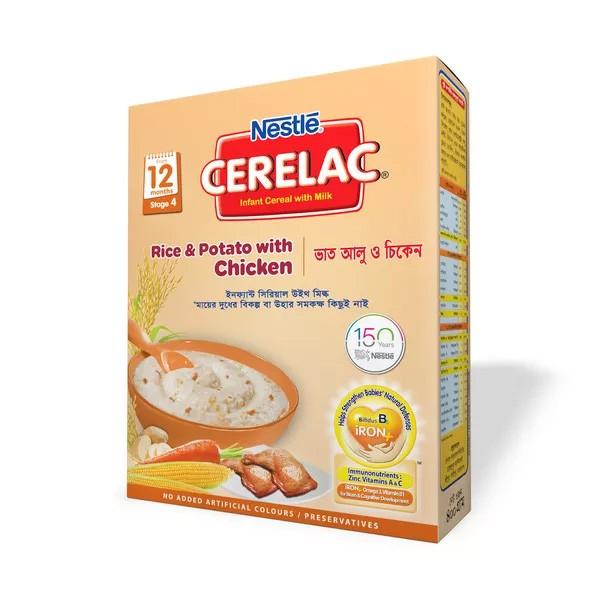 Nestlé Cerelac 4 Rice & Potato With Chicken (12 months+) BIB (400gm)