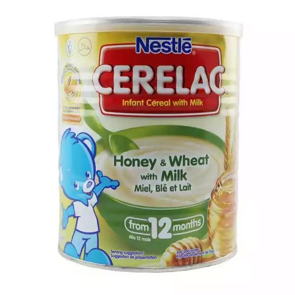 Nestlé Cerelac Honey & Wheat With Milk (12 months +) Tin (1kg)