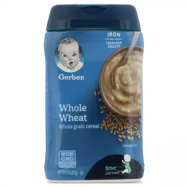 Gerber Whole Wheat Cereal (227gm)