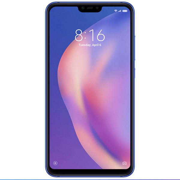 Mi 8 Lite 24MP Selfie Camera - 4GB RAM - 64GB ROM - Aurora Blue (1pcs)