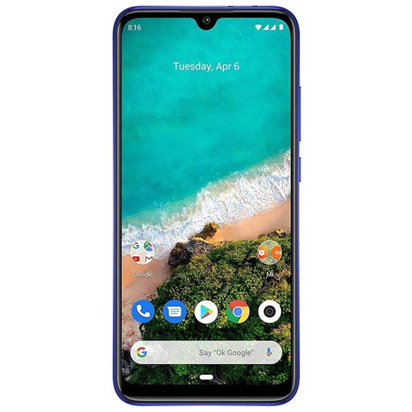 Xiaomi Mi A3 - 6.088inches - 4GB RAM - 64GB ROM air Triple camera 48MP primary Camera, 32MP Air selfie camera (1pcs)