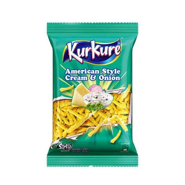 Kurkure American Style Cream & Onion Chips (45 gm)