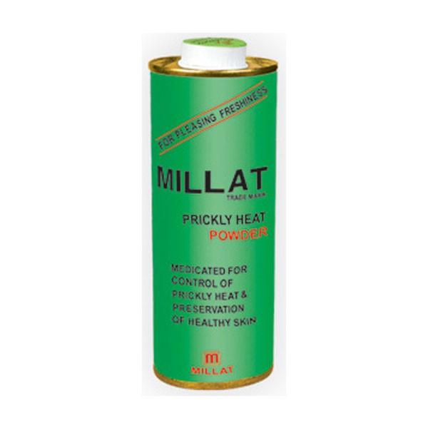Millat Prickly Heat Powder Tin  (150 gm)