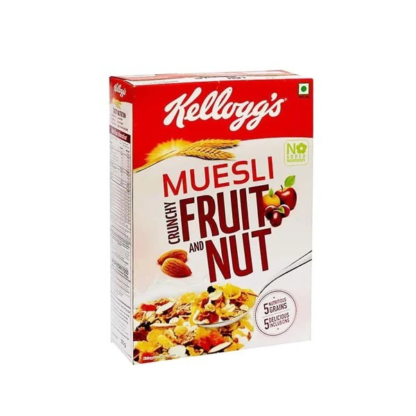Kelloggs Muesli Crunchy Fruite & Nut  ( 500gm )