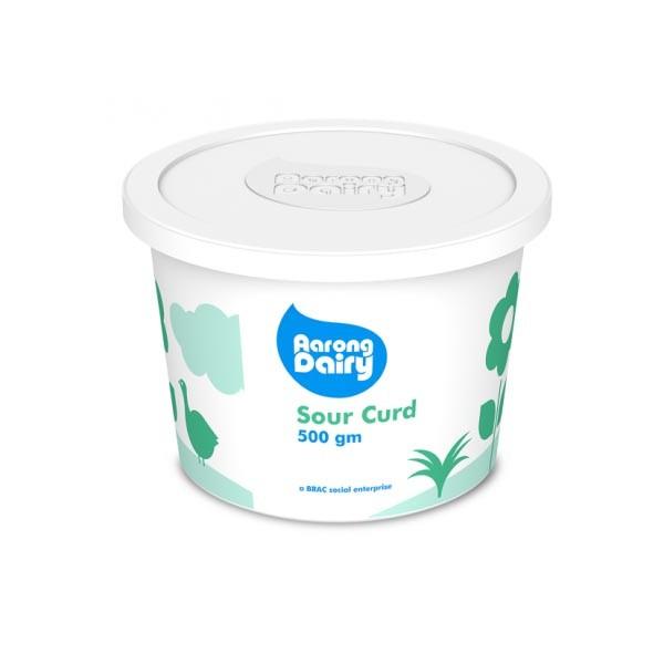 Aarong Dairy Sour Yogurt  (500 ml)