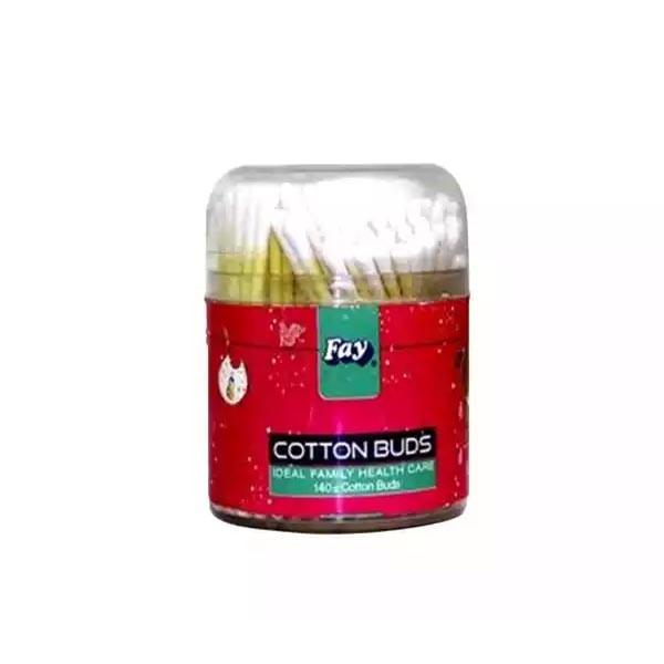 Fay Round Cotton Buds  (140 pcs)