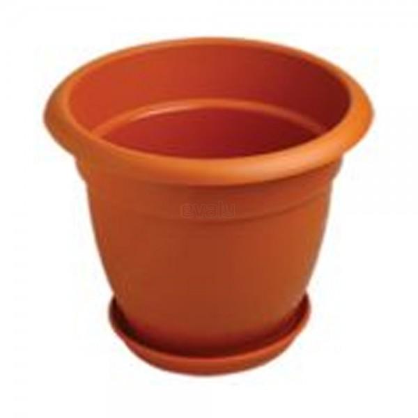"Planter Dhalia With Tray ( Flower Tub- 8"" )"