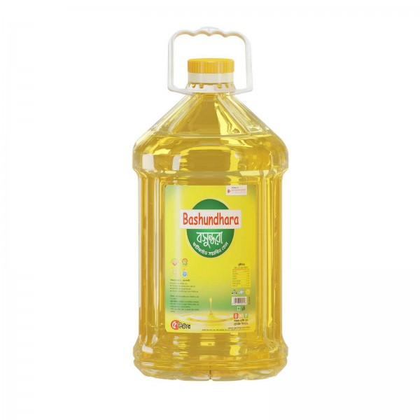 Bashundhara Fortified Soyabean Oil (5 ltr)