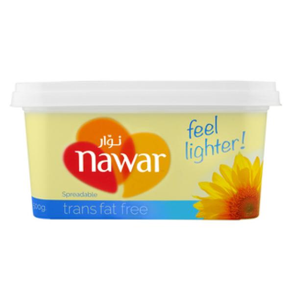 Nawar Spreadable Margarine Trans Fat Free (500g)