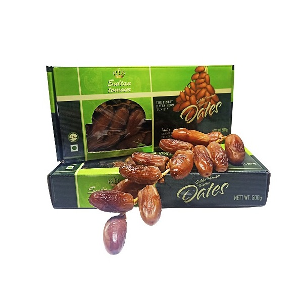 Sultan Tomour Tunisian Dates (500 gm) PKT