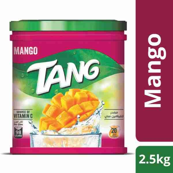 Tang Mango Drink Powder Jar- Imported- (2.5 kg)