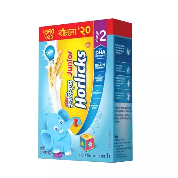 Junior Horlicks BIB (500 gm)
