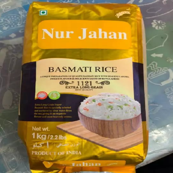 Nur Jahan Basmati Rice (1 kg)