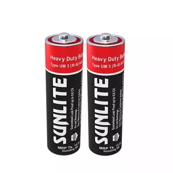 Sunlite Heavy Duty AA Battery (2 pcs)